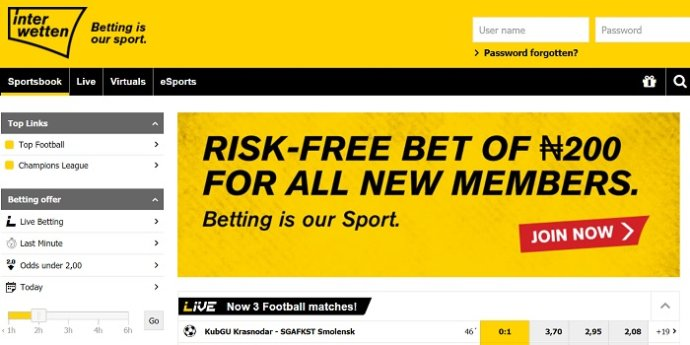 Interwetten Sports Betting